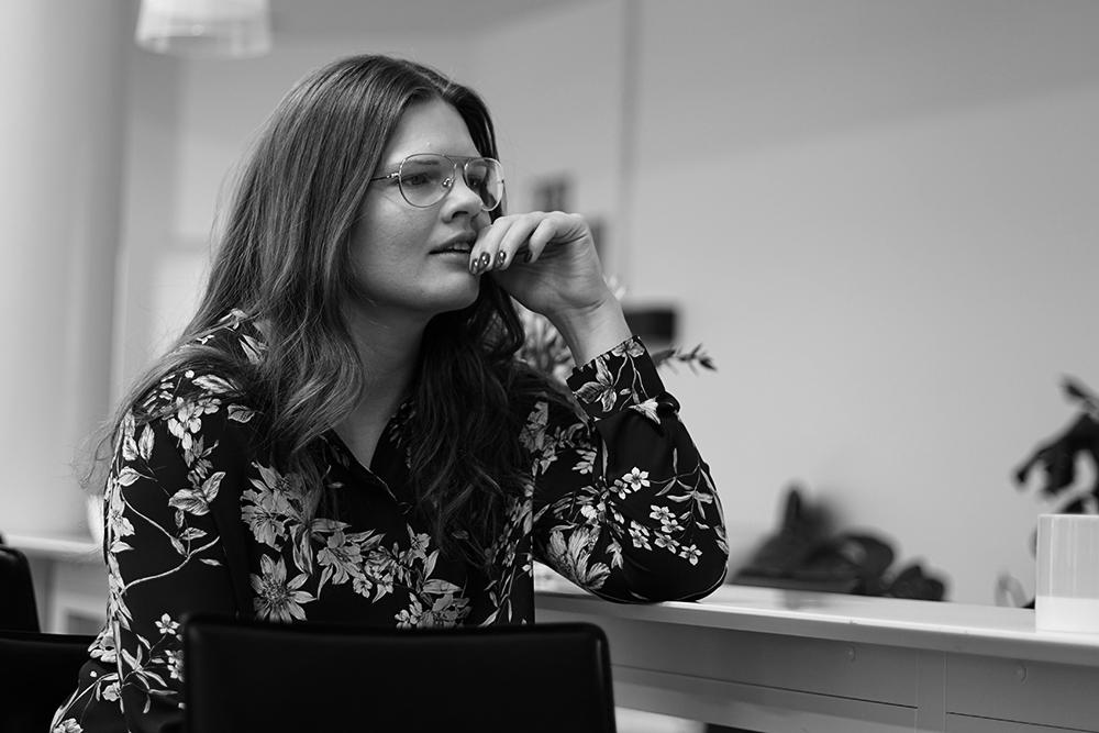 Karin är en av våra medarbetare med copyförmåga